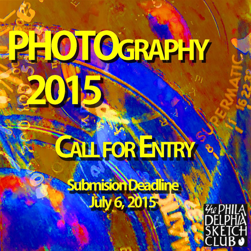 Photo 2015 Call for Entry