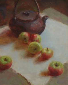 Teapot and Apples