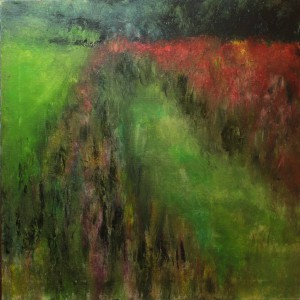 Zinnias by Ellen LoCicero
