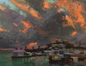 Harbor Clouds _ Bermuda