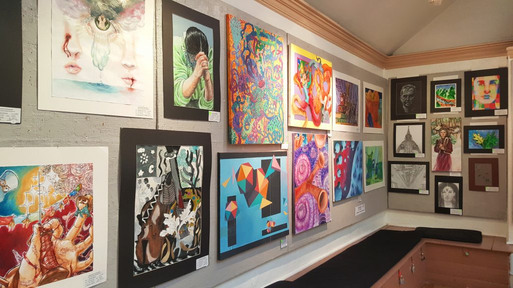 A preview of the 2018 High School Student Art Exhibition