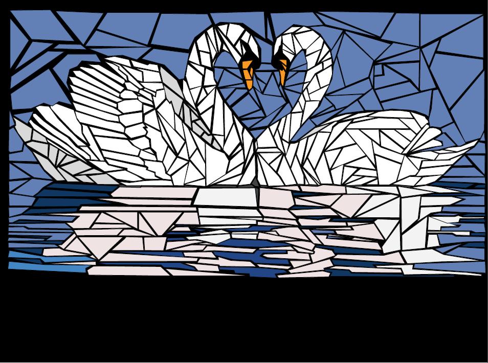 Water Award- Parkway West, Jade Fleming- Mosaic Drawing