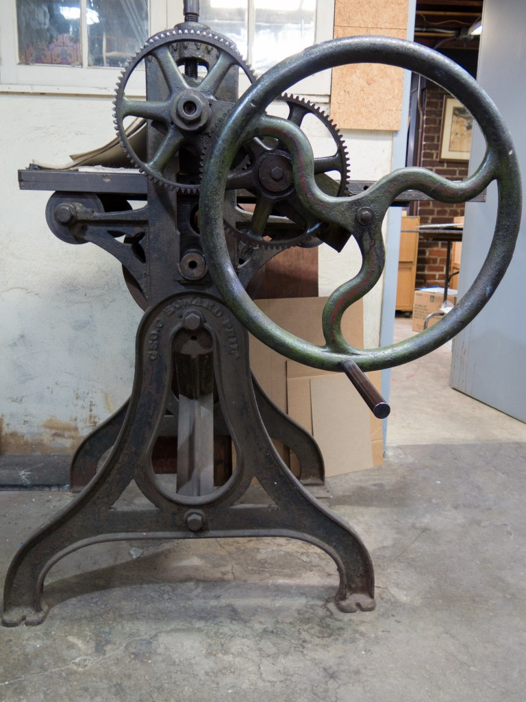 The PSC etching press