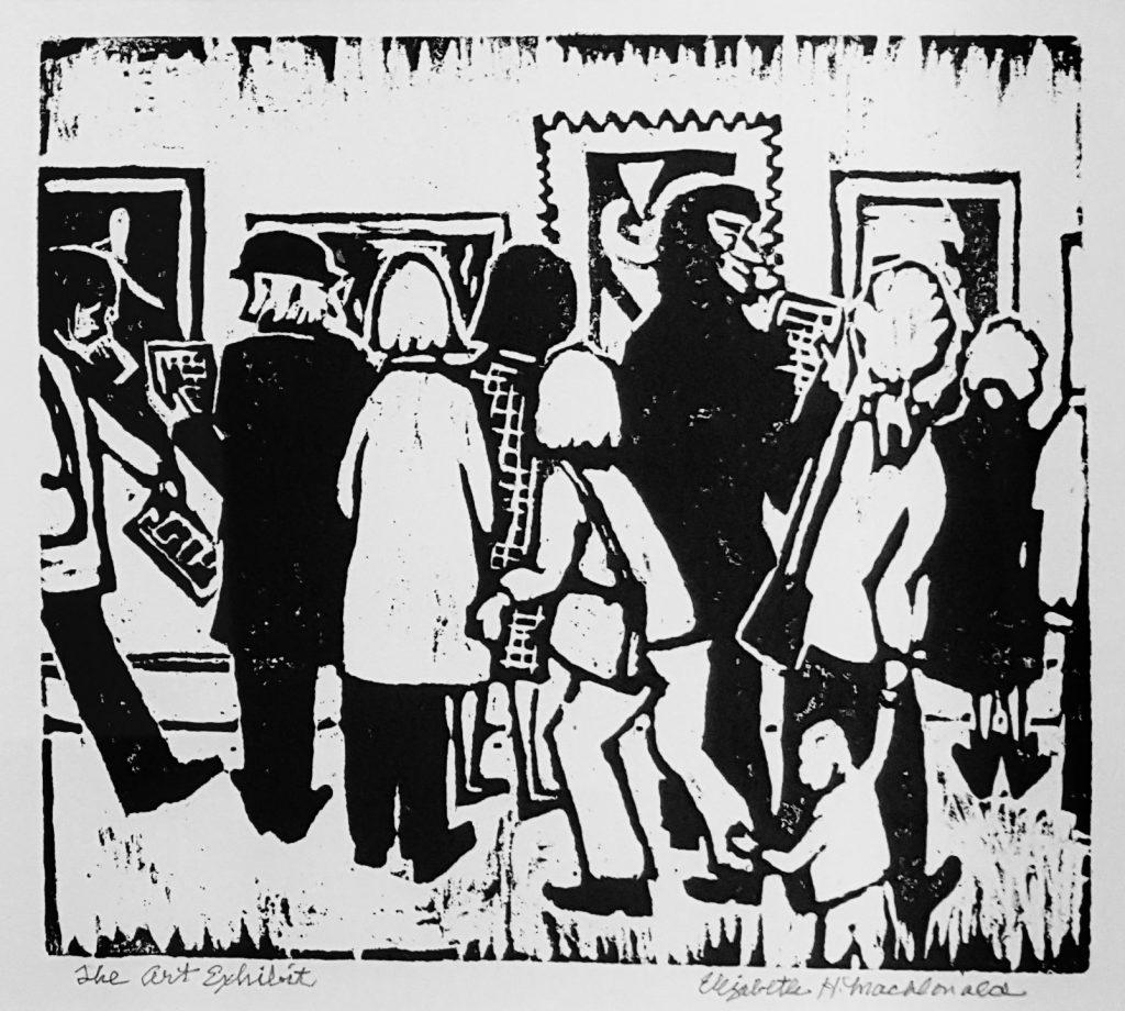 Elizabeth MacDonald, The Art Exhibition